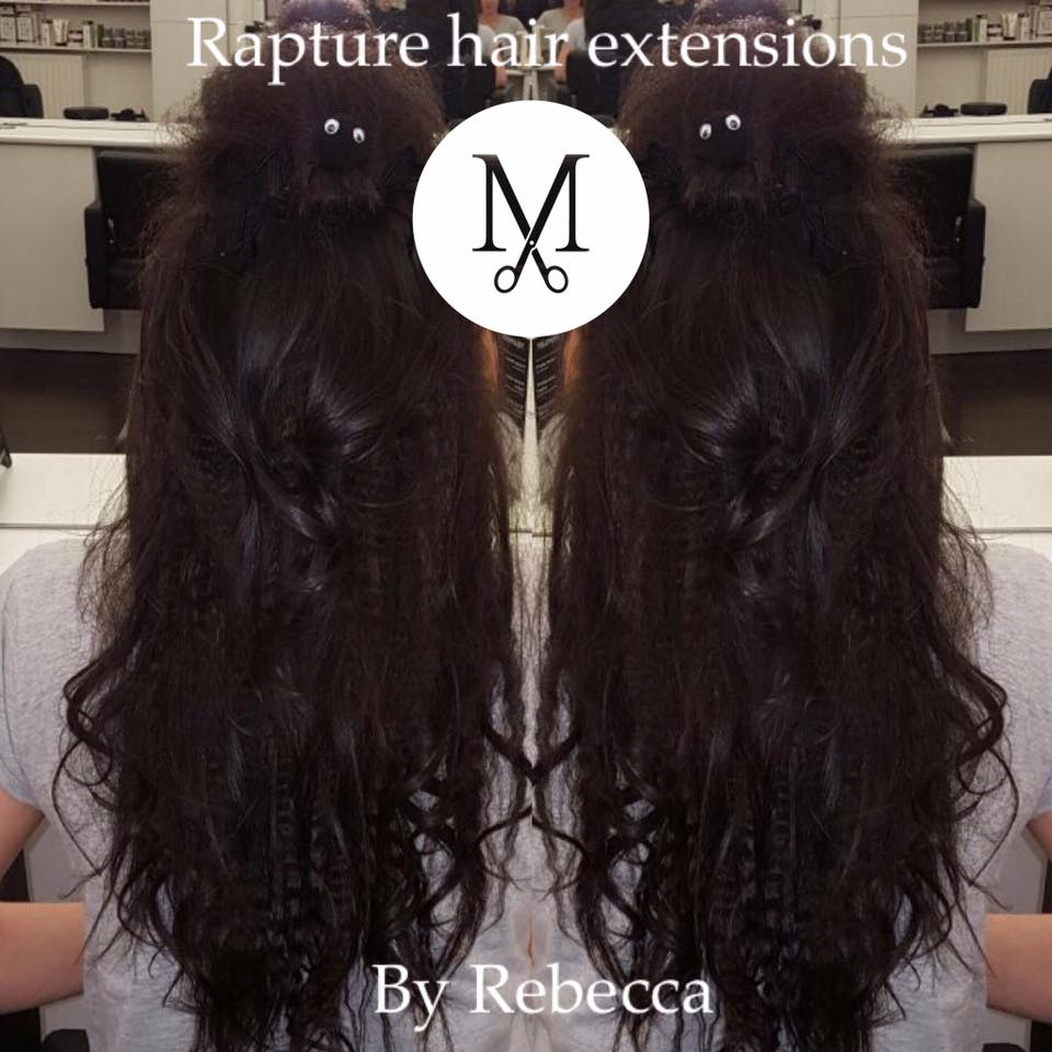 Hair extensions myles hairdressing salon beauty salon edinburgh transform your existing hair with extensions pmusecretfo Gallery